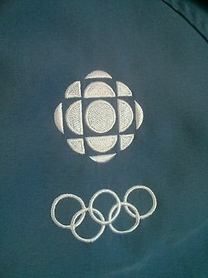 CBC Sports Athens 2004 Olympic staff worn jacket Karbon Athletic Team Canada
