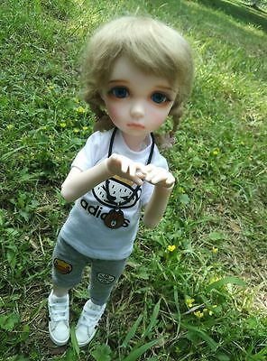 1/6 bjd doll dolls cute girl big eyes innocent face with free eyes+face make up