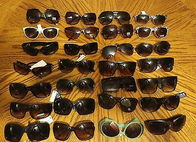 womens sunglasses Wholesale Lot Of 28 assorted pairs New designer styles