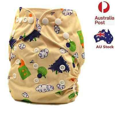 New Unisex Breathable Longlasting Modern Cloth Nappies Nappy Baby Pants(D164)