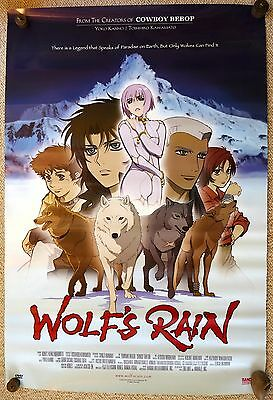 WOLF'S RAIN Poster ORIGINAL and Rolled 27X41 Anime