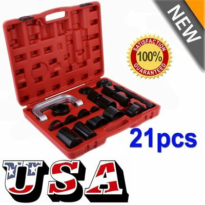 21Pieces C PRESS TRUCK CAR BALL JOINT DELUXE KIT SERVICE REMOVER INSTALLER MX