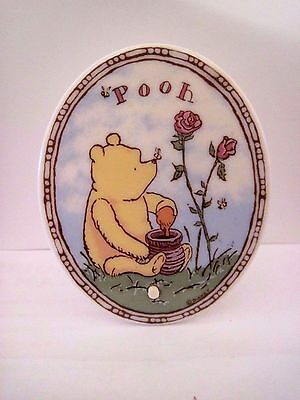 Classic Pooh Winnie Pooh Ceramic Night Light, Santa Barbara, Disney
