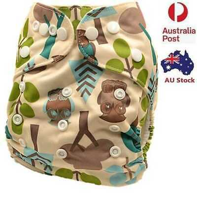 Modern Cloth Nappies Unisex Cloth Nappy Cloth Diaper With Pocket Liner (D176)
