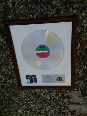 AC/DC HIGHWAY TO HELL Gold Record Atlantic Records American Academy Music Warner