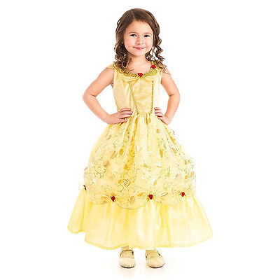 NEW Little Adventures Yellow Beauty & The Beast Costume 3-5