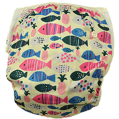 Breathable Baby Girl Girly Swim Nappy Size 1-3 (No Extra Nappies Needed )(S110)