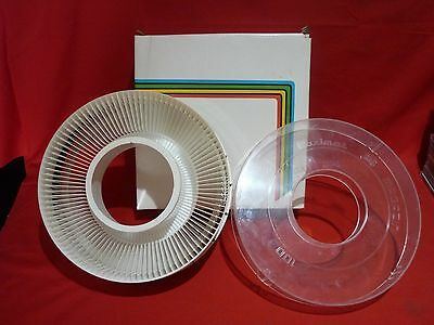 BRAUN 100 COUNT SLIDE PAXIMAT MAGAZINE FOR 35mm SLIDE PROJECTORS VGC