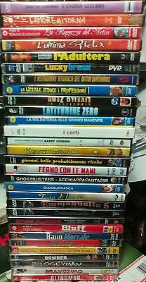 Lotto 30 DVD nuovi sigillati originali