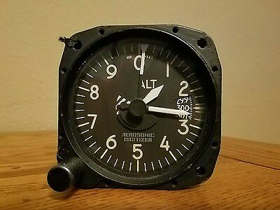 Airplane Altimeter Altitude Reporting Aircraft Instruments Gauge