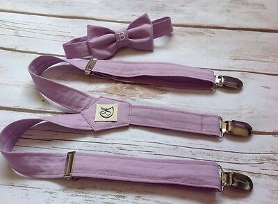 Children's Monogram braces and 1 bow tie. Handmade (Baby, Toddler And Boys)