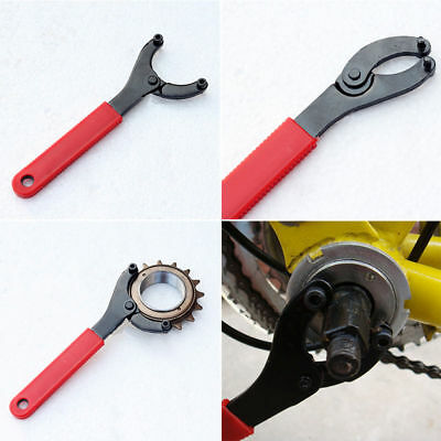 Bicycle Bike Bottom Bracket Lock Ring Remover Crank Repair Spanner Wrench Tools