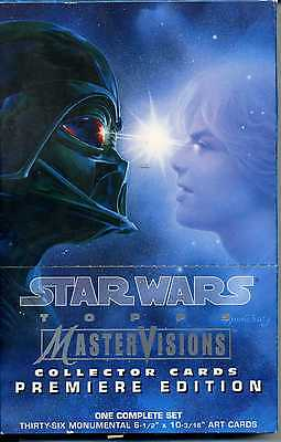 Star Wars  Master Visions Collector Cards Premiere Edition
