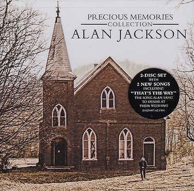 ALAN JACKSON PRECIOUS MEMORIES COLLECTION 2CD Edition/ 28 Tracks