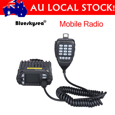 Updated QYT KT-8900D Dual Band Color LCD Quad-Standy Mobile Radio Transceiver bw
