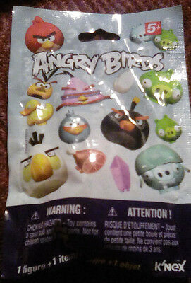 Angry Birds K'Nex bag New Figure  & Item lot of 2 packages