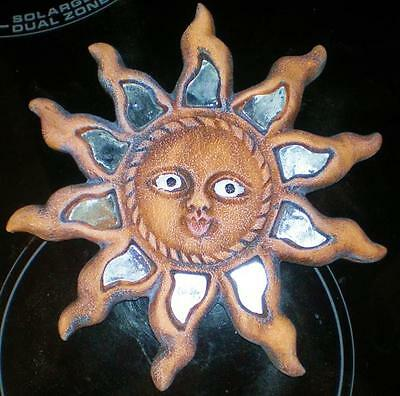 Latex Craft Mould To Make Sun Face Plaque Reusable Art & Crafts Hobby