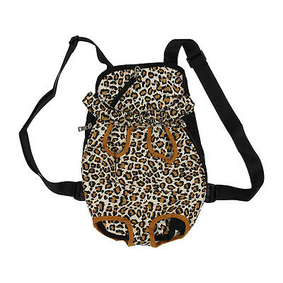 Exchange Carrier Backpack Front Size XL Fabric for Leopard Dog Y1K2