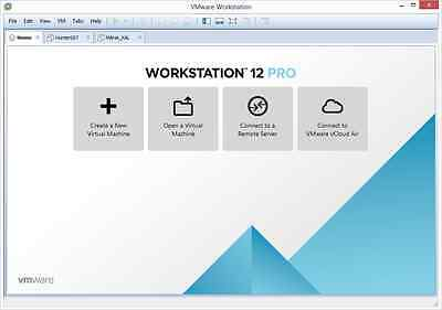 VMware Workstation Pro 12.5 (lifetime license) Worldwide Key.