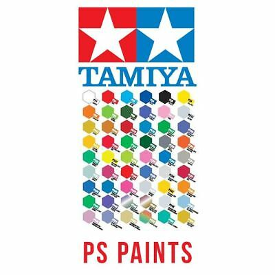 Tamiya PS-1 to PS-63 100ml Polycarbonate Lexan PS RC Car Model Spray Paint