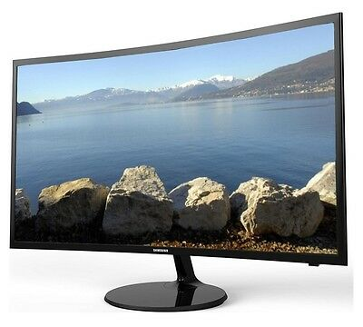 """Samsung V27F39S Smart Wifi 27"""" Led Curved Tv Monitor Freeview Hd 1080P Hdmi Usb"""