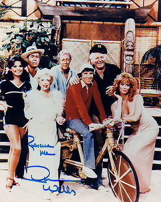 DAWN WELLS ~ GILLIGAN'S ISLAND MOVIE ~ SIGNED 10x8 PHOTO COA