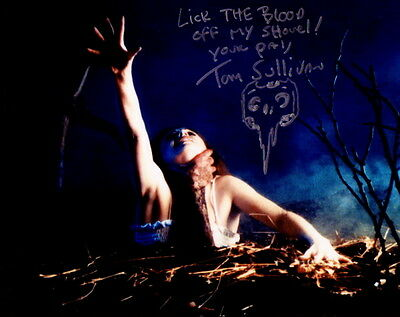 TOM SULLIVAN ~ THE EVIL DEAD & OTHER HORRORS #2 ~ SIGNED 10x8 PHOTO COA