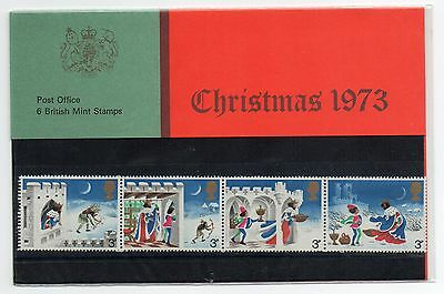 GB 1973 Christmas Presentation Pack VGC. Stamps. Free postage!!