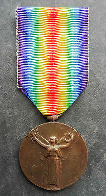 France French WW1: 1914–1918 Inter-Allied Victory medal