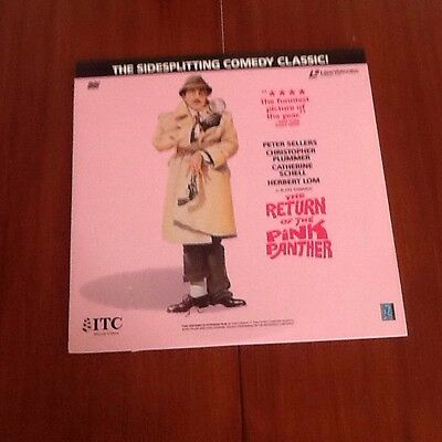 Return Of The Pink Panther Laser Disc Excellent Condition
