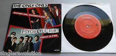 """The Only Ones / Psychedelic Furs - Another Girl UK 1992 7"""" Single P/S"""