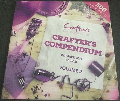 New Crafter's Companion PC CD-Rom Printable Backing Papers Volume 2