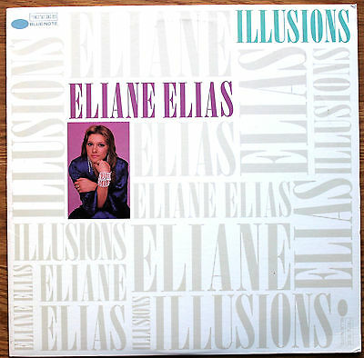 ELIANE ELIAS Illusions US Vinyl LP BLUE NOTE BLJ 46994 EX+/EX 1987