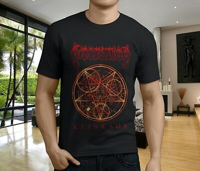 Hot New DISSECTION Band Men's Black T-Shirt Size S-3XL