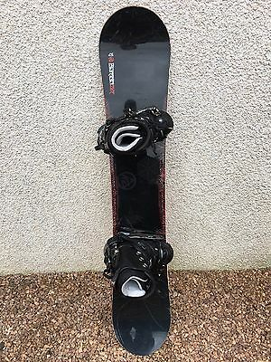 Burton Air 157 Snowboard With K2 Cinch Cts Bindings