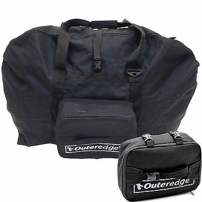 "Outeredge Cycling Folding Bike Bag for 20"" Wheel Folding Bikes - Black OBA200"