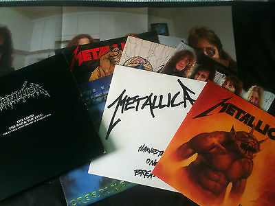"Metallica - The Good The Bad & The Live Box Set 12"" (x6) with poster   UK 1990"