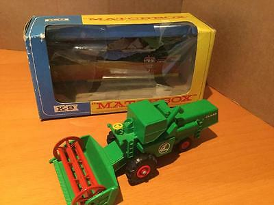 Matchbox Lesney King Size K9 CLAAS Combine Harvester green VNMIB