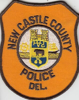 New Castle County Police Delaware De Shoulder Patch