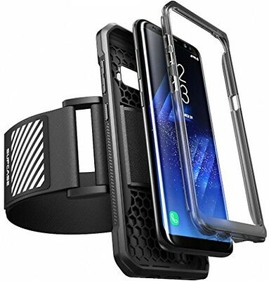 Galaxy S8 Armband, SUPCASE Easy Fitting Sport Running Armband With Premium Case