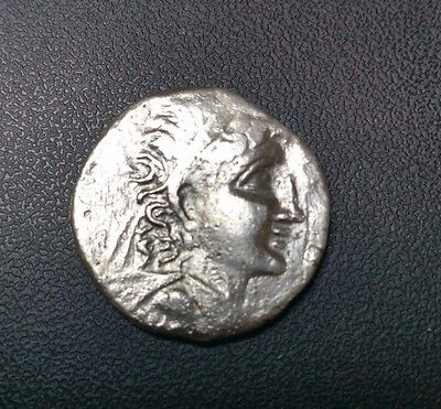 the  silver Ancient Greek Coin