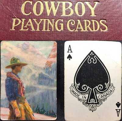 c1916 Very Rare Canadian Pacific Railway Railroad Playing Cards RR Train Deck
