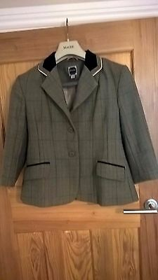 Dublin Cambridge Tweed Hacking Jacket - Child 8 - Excellent Condition