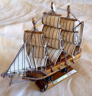 Wooden Ship Replica of the Mayflower