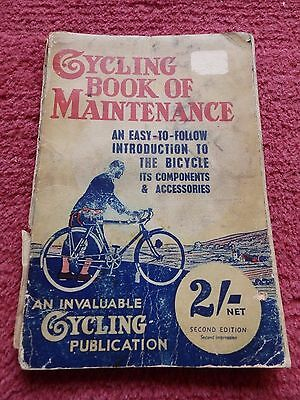 Vintage Cycling Book of Maintenance - second edition