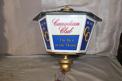 lighted working Canadian Club Sign The best in the house ask for CC
