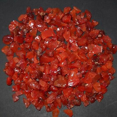 Whole Lot 50 Cts Raw Minerals 100% Natural Specimen Carnelian Gemstone Rough (C-