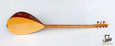 Turkish Quality Long Neck Mulberry  Baglama Saz For Sale Asl-115N