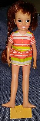 Vintage Ideal 1970/1971 original Crissy Doll Growing Hair Original Clothes    12
