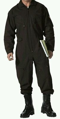 Rothco Military Flight Suit Air Force Style Flight Coverall Long Sleeve Mens 3XL